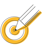 Picto stratégie de communication - Maud'Com rédaction web